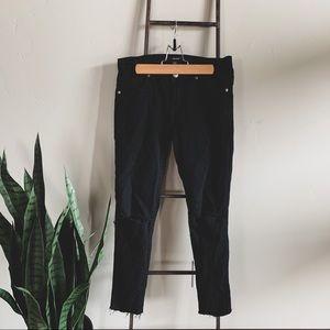 Distressed F21 Jeans